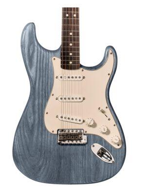 tinte azul para guitarra y aprende como tintar madera guitarra