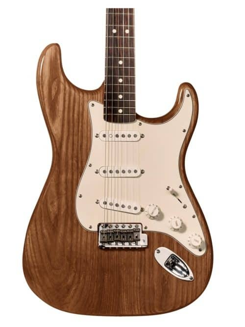 tinte marron naranja para guitarra y aprende como tintar madera guitarra