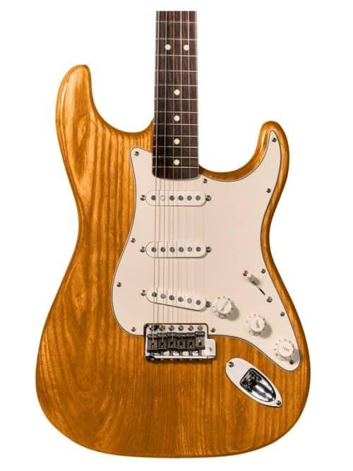 tinte naranja para guitarra y aprende como tintar madera guitarra