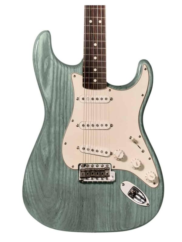 tinte teal para guitarra y aprende como tintar madera guitarra