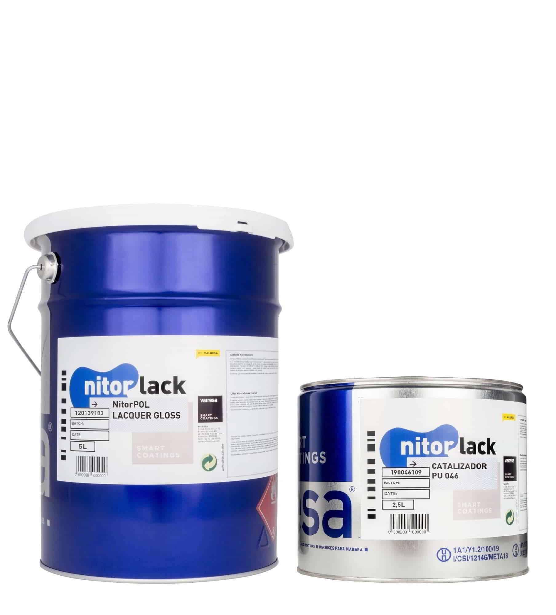 NitorPOL LACQUER GLOSS + catalizador