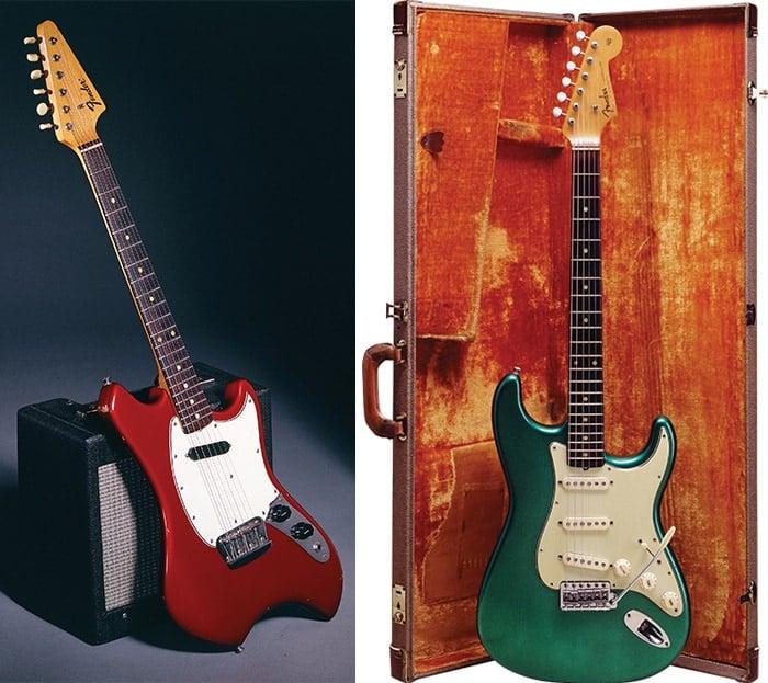 guitarra eléctrica red fiesta