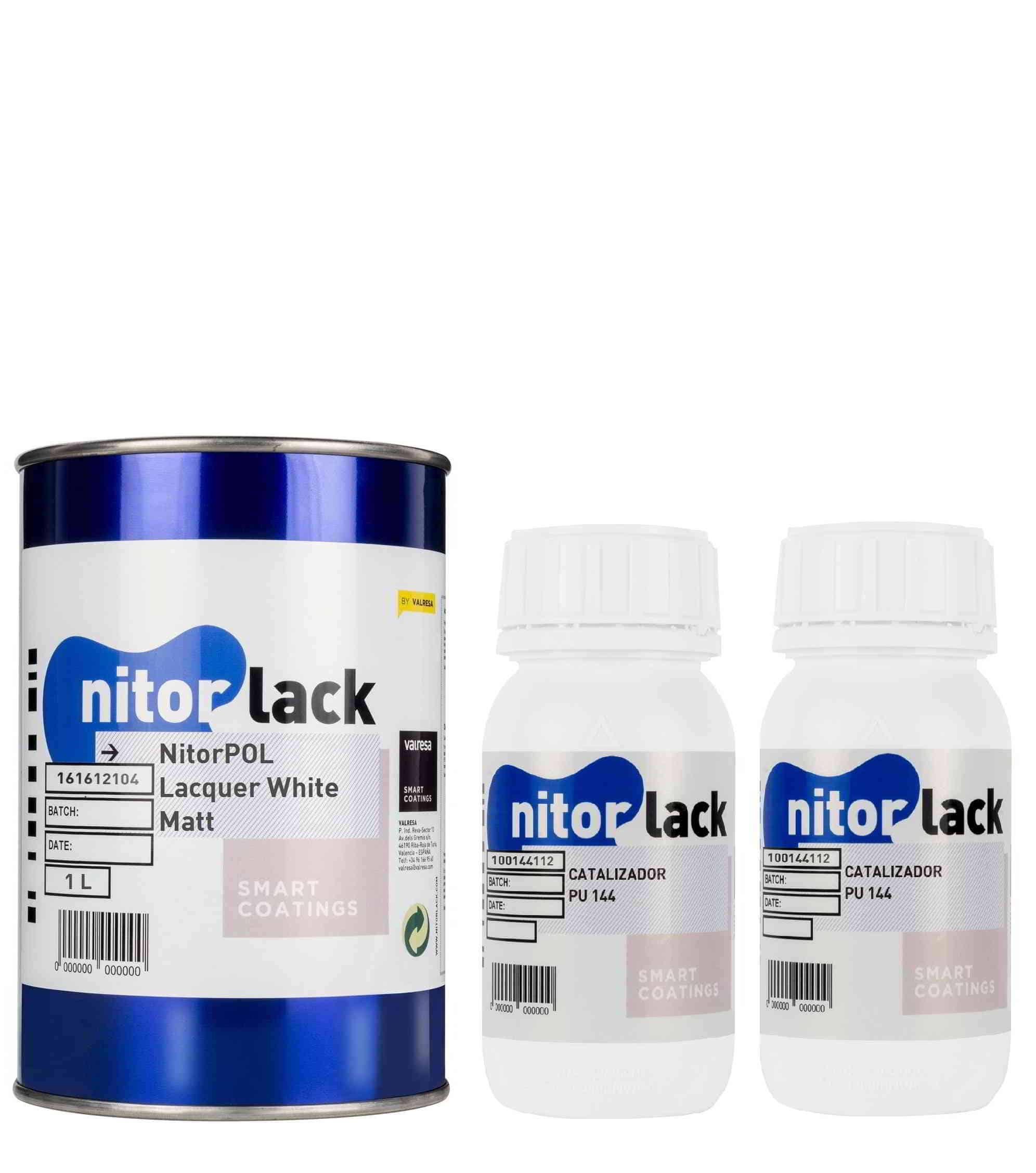 NitorPOL LACQUER WHITE MATT