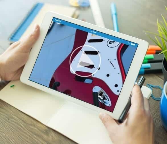 tutoriales para pintar guitarra electrica